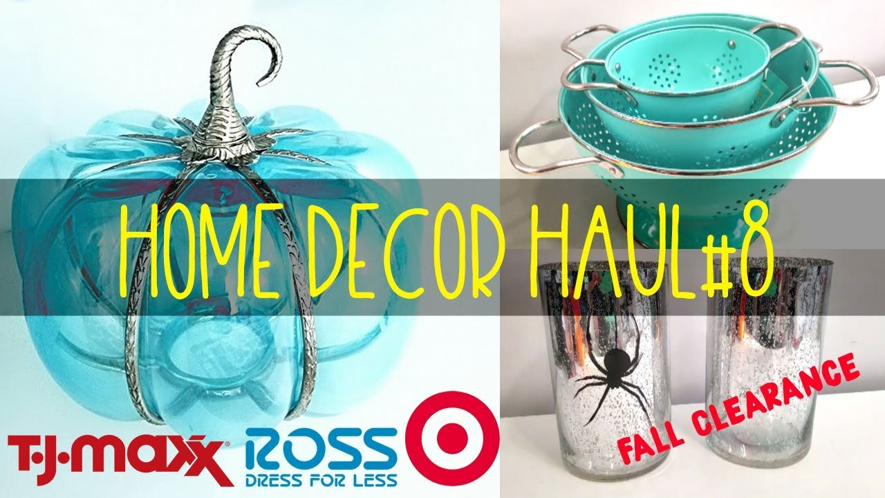 amazon home decor haul target tjmaxx ross amp home decor haul 8 november 10342