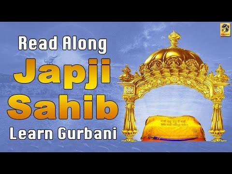 Japji Sahib   Read Along   Morning Prayers   Gurbani   Learn Gurbani   Bhai Mehtab Singh