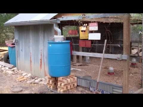 Rain Collecting Automatic Chicken Waterer Youtube