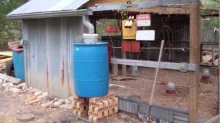 Rain Collecting Automatic Chicken Waterer