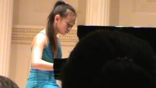 Sonatina Op. 88 No. 3 Movement 3 - Elizabeth Guo at Carnegie Hall