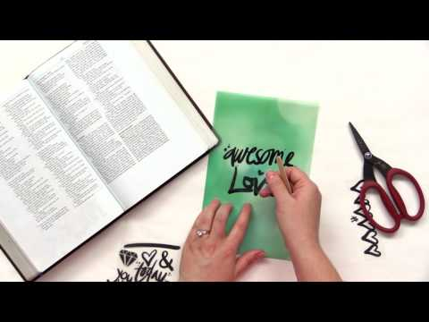 How to Create Vellum Inserts in Your Journaling Bible | Lesson 2 | Rebekah R Jones