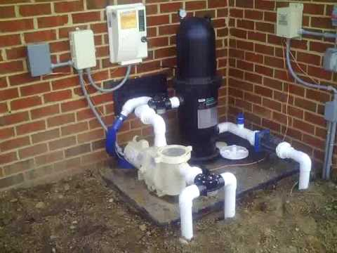 hqdefault salt water chlorinator electrical hookup youtube inground pool wiring diagram at reclaimingppi.co