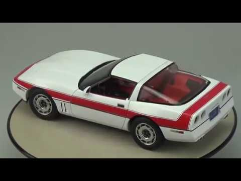 Chevrolet Corvette C4 1984 The A Team Greenlight 1:18