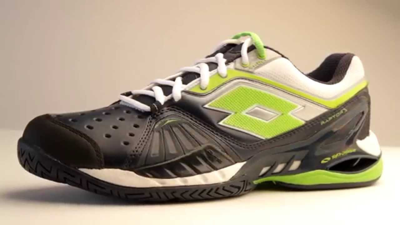 Lotto Raptor Ultra IV Speed Tennis Shoes - YouTube 88bc64f899a