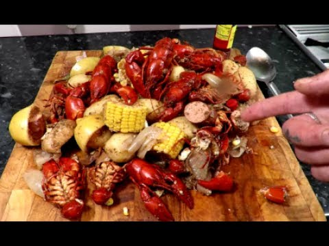 Crayfish, Catch And Cook. A UK Crayfish Boil. #SRP