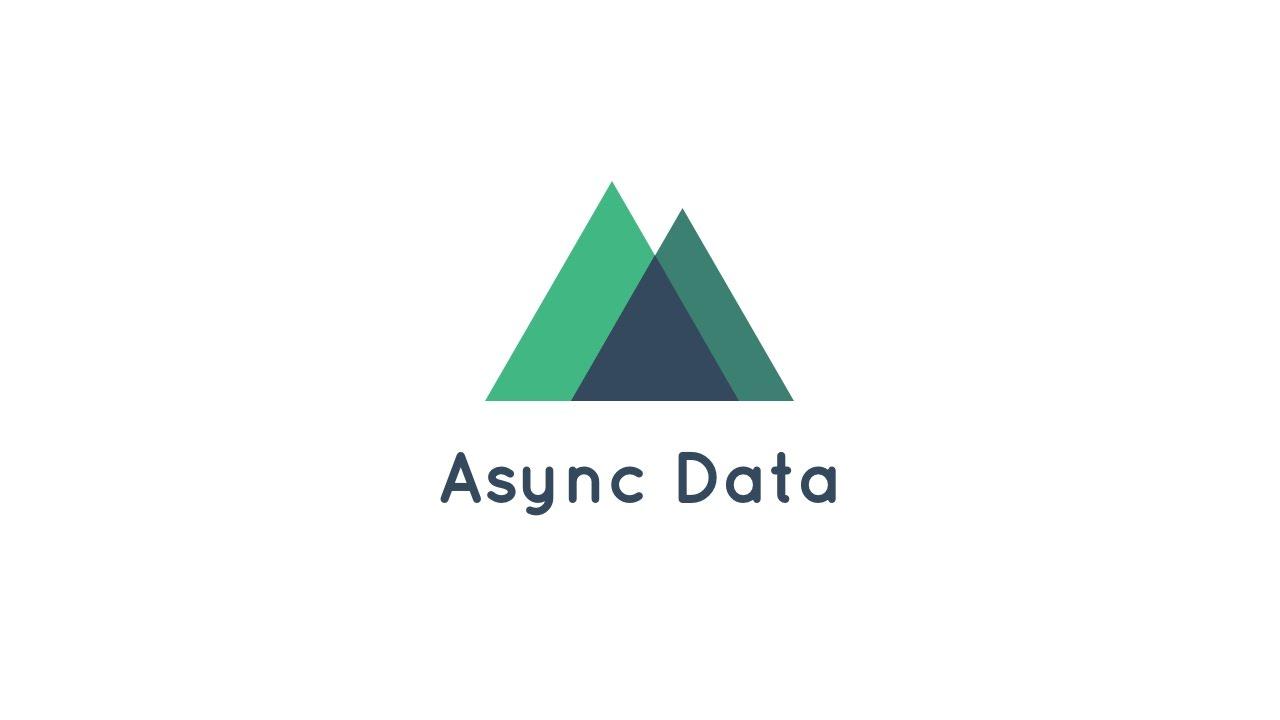 Nuxt js - Async Data