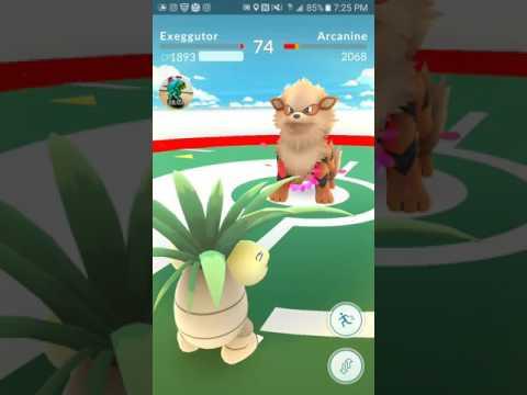 Pokemon Go TEAM INSTINCT Taking Down Level 9 Team Valor Gym