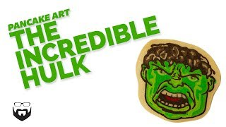 How to Draw Hulk Pancake Art