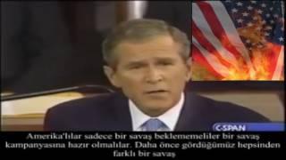 george bush'un amerika işgallerinin haçlı seferi olduğu itirafı