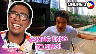 Can FILIPINOS Sing?! | ONLINE 2