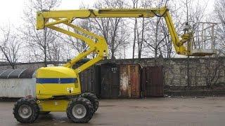 Самоходный дизельный подъемник Haulotte HA18PX (2000г.в.)(, 2014-04-17T06:09:42.000Z)
