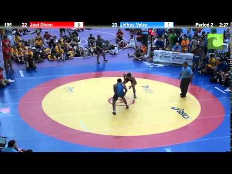 195 Joel Dixon vs. Jeffrey Velez