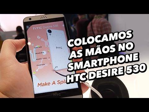 Colocamos As Mãos No Smartphone HTC Desire 530 [Hands On] - MWC 2016