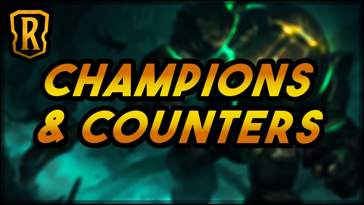 Champions & Counters | Talking Design (Part 5/5) | Legends of Runeterra