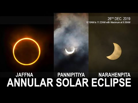 'Ring of Fire' Last Solar Eclipse Of The Year 2019