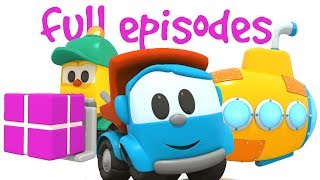 Leo the Truck & Cars for Kids. A Cartoon for Kids