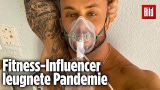 Er hat nicht an die #pandemie geglaubt, dann erkrankte selbst #corona – und jetzt ist tot!vor drei tagen sendete der ukrainische fitness-#influencer...