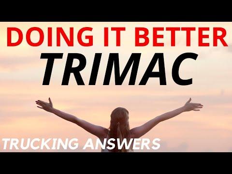 Trucking Company Doing It Better Trimac Transportation