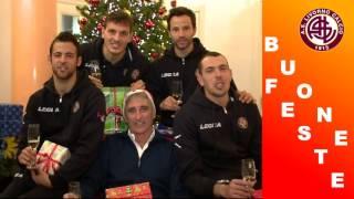 Gli auguri del Livorno Calcio