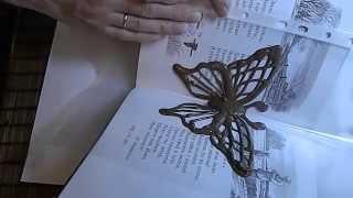 как сделать объемную бабочку из шоколада
