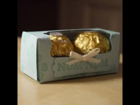 Mini Treat Box for Two Truffles/Ferrero Rochers