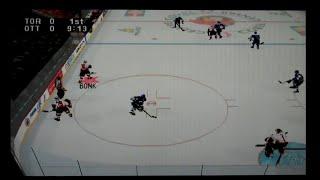 NHL 98 Playstation Gameplay