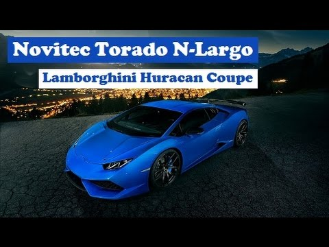 novitec torado lamborghini huracan coupe n largo breaks the cover limited t. Black Bedroom Furniture Sets. Home Design Ideas