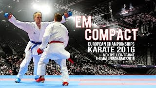 KARATE EM Compact 2016 European Championships Team GERMANY