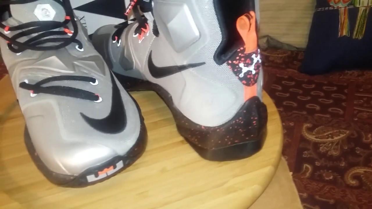 info for 370ad b818c Sneaker Shark: Nike LeBron 13 Grey Lava