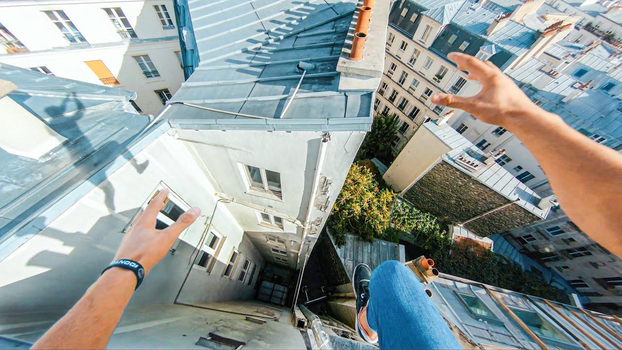 Download Paris Rooftop Parkour POV 🇫🇷