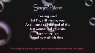 Karoke song by sing2play(i hate you i love u)