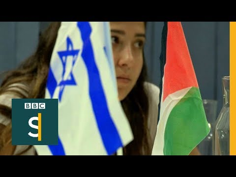 Ordinary Palestinians & Israelis talk peace – BBC Stories