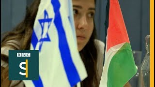 Ordinary Palestinians & Israelis talk peace - BBC Stories