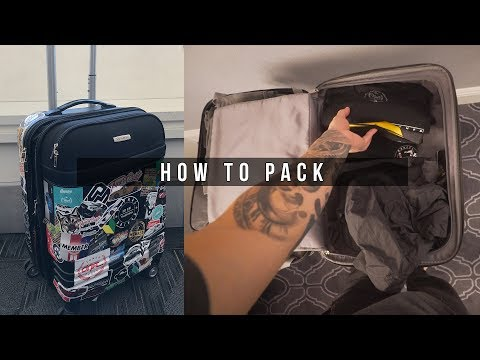 WANT TO BE A TRAVEL VLOGGER?   HOW TO PACK