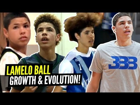 LaMelo Ball's Incredible Evolution Through The Years! From 5'5' to 6'7' In 4 Years!