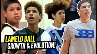 "Download LaMelo Ball's Incredible Evolution Through The Years! From 5'5"" to 6'7"" In 4 Years! Mp3 and Videos"