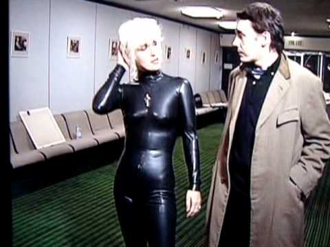 Paula Yates Rubber Pvc Outfit Ooh Youtube