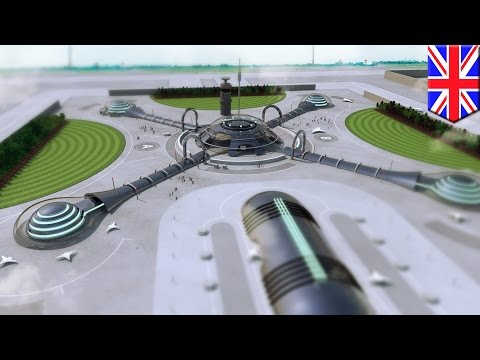 Airports of 2040: This is what airports of the future might look like - TomoNews