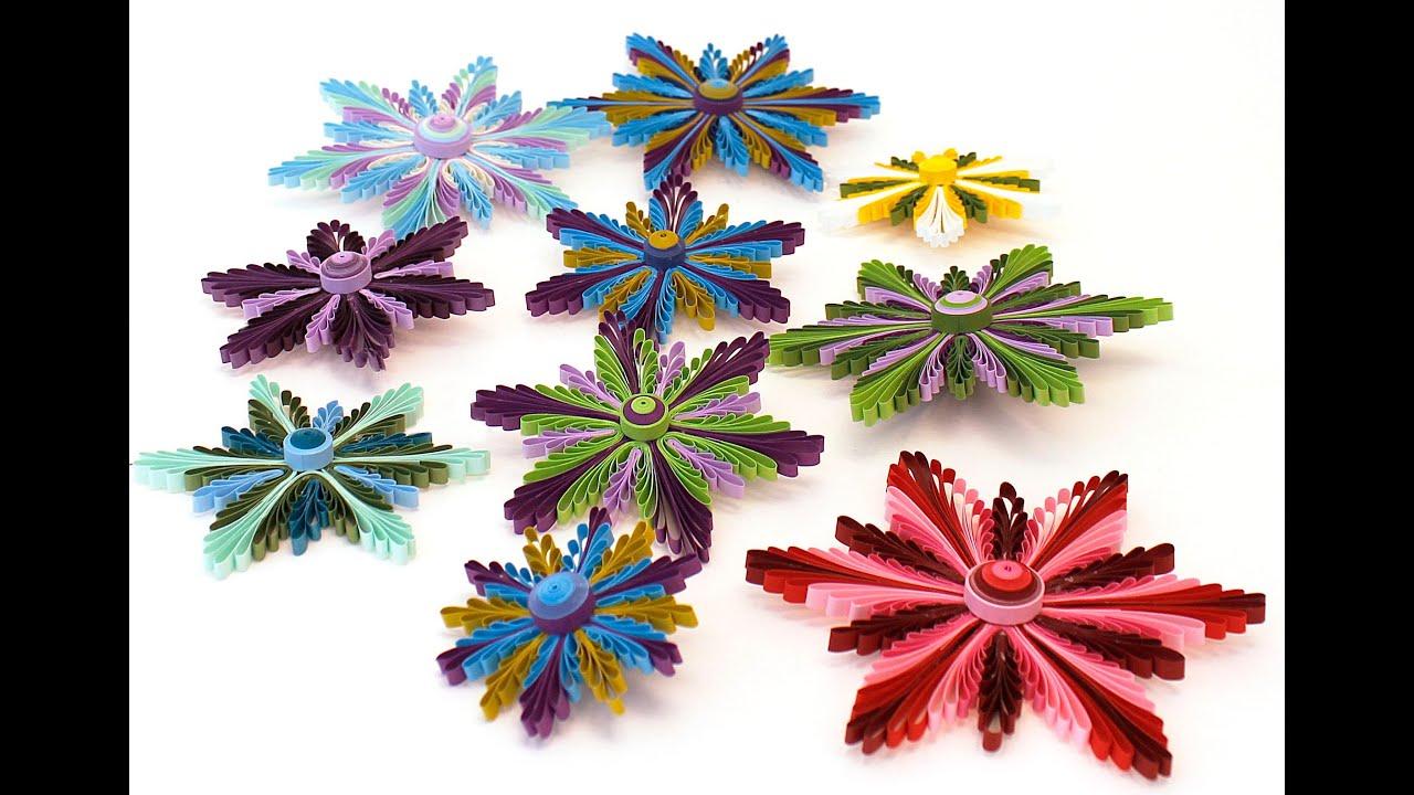 Papercraft COPENHAGEN FLOWERS QUILLING