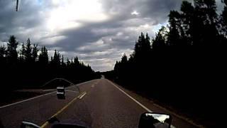Motorrad in Lappland Finnland (17)