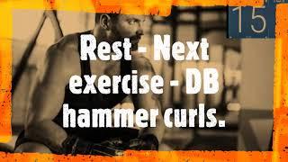 Dumbbell upper body 101 beginner   full video