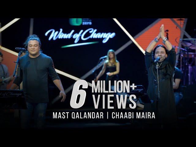 MAST QALANDAR - CHAABI MAIRA - TAPOSH FEAT. KAILASH KHER & MIZAN : OMZ WIND OF CHANGE [ S:06 ]
