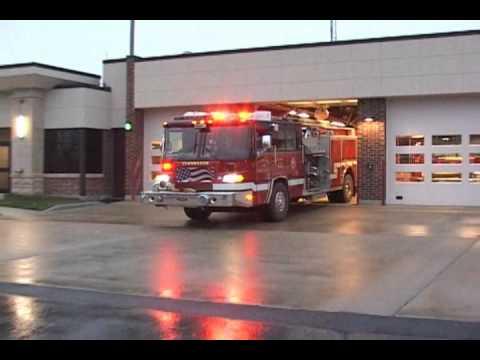 Channahon,IL Fire Protection District Ambulance & Engine Responding