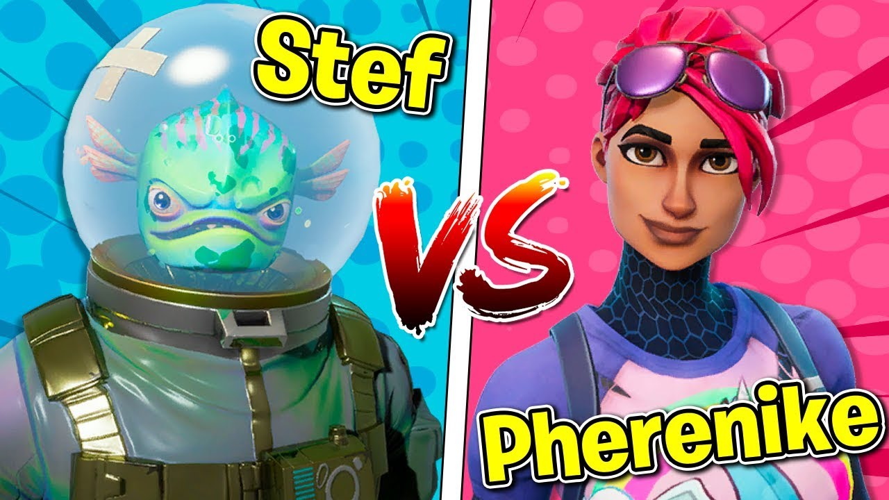 Fortnite ITA - STEF VS PHERE - 1 CONTRO 1!!