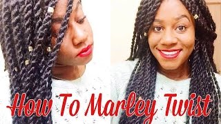 How to marley twist for beginners only 2 hours | step by step!
