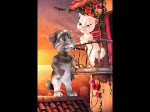 TomLovesAngela,.mèo tom hát nhạc t ara tỏ tình