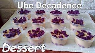 Ube Decadence Dessert l Ube Halaya Decadence Dessert Recipe