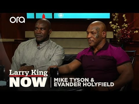 What Kept Holyfield From Biting Tyson Back | Larry King Now - Ora TV
