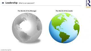 Webinar on Organizational Transformation starts with Leadership Agility